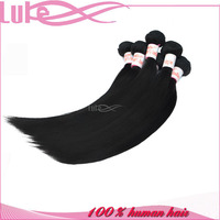 Wholesale AAAAA Grade Tangle Free No Shedding 22 Inch Indian Remy Hair Extensions