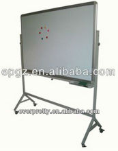 Whiteboard with melamine easel/cheap school wrinting board /portable whiteboard with stand for kids
