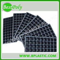 Good price plastic seed tray with 32 50 72 105 128 200 288 holes