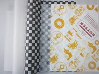 custom printed wax paper for sandwich Wrapping paper