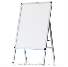 "Movable ""A"" type stand whiteboard"