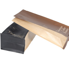 square bottom doypack stand up pouch for coffee packaging bags