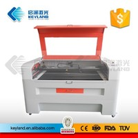 Wuhan Keyland laser cutting and engraving machine 100W for nonmetals crafts touchless engraving and cutting