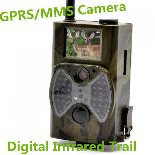 GPRS/MMS Digital Video Camera 12MP and 1080P HD Wildlife Infrared Trail Hunting Camera