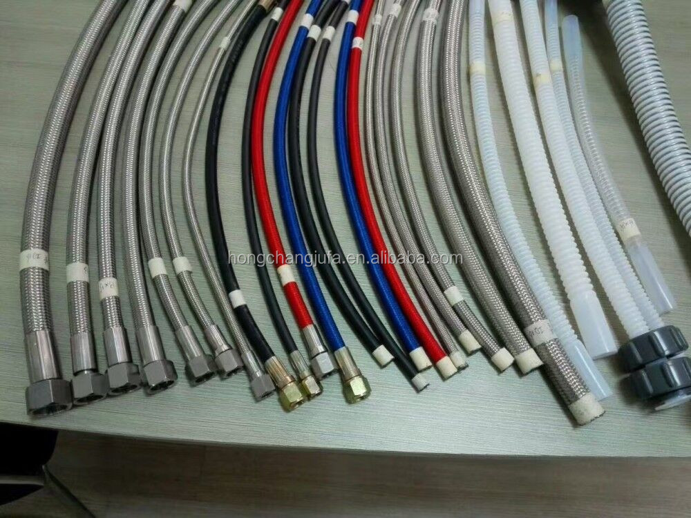 flexible teflon hose