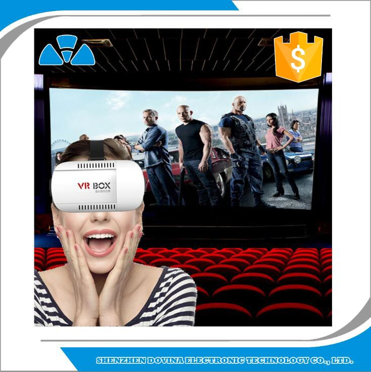 Factory Supplier VR Headset VR Case for 3.6''-6'' Screen Smart Phone 3D Box for S7,S6