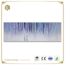 New design high quanlity 3d resin abstract flower oil painting for wall decoration