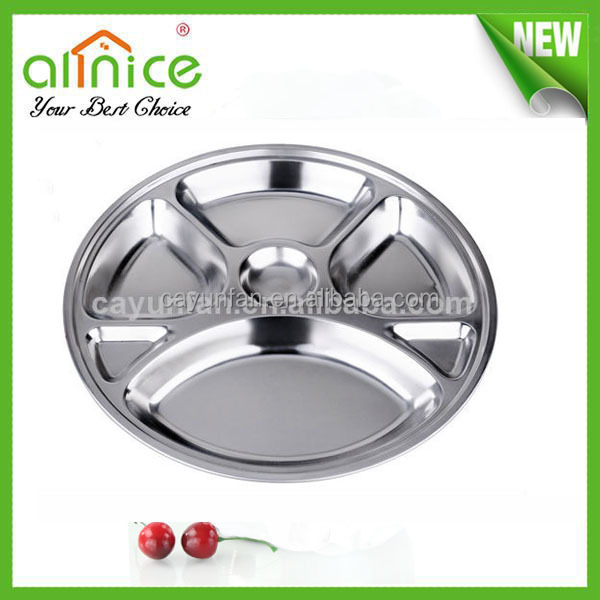 stainless steel 7compartment thali / dinner Plate /Dinner Tray