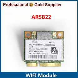 dual band laptop mini pcie wireless card 300Mbps Bluetooth BT4.0 network card AR5B22