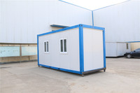demountable mobile resturant 2013 hot sale prefab container house for Pakistan