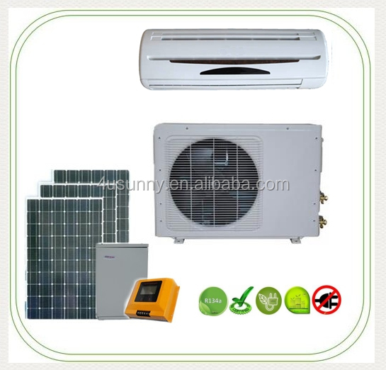 Low Price Solar Powered Wall Split Air Conditioner Cold and Hot