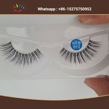 3D soft synthetic eyelash 100%hand made false eyelash silk lashes