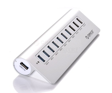 High quality 7port aluminum usb hub +3 port usb for iMac, MacBook Air, MacBook Pro, MacBook