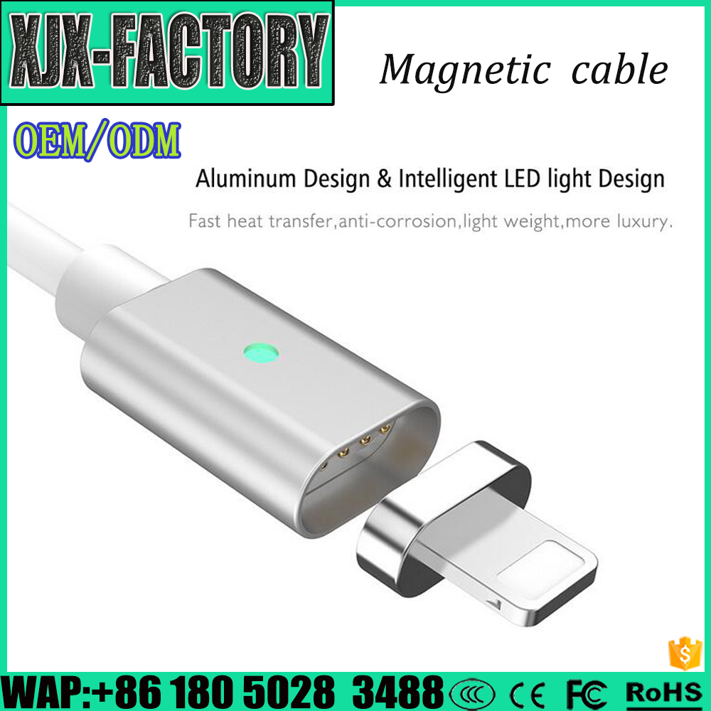 Top 3 factory!China manufacturer Magnetic Charger USB Adapter 3.1 Type c usb data cable
