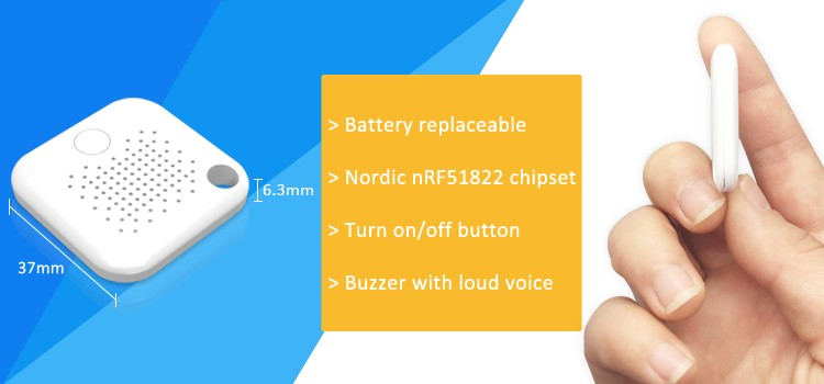 Smart ble finder anti lost bluetooth tracker