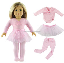 Hot Handmade Pink Doll Clothes