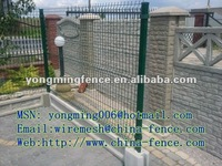 hot sale durable bending garden border fencing/china direct factory