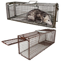 Handmade best quality animal cage Competive price live animal wire cage traps Welded wire mesh traps
