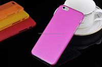 frosted pp case for iphone 6 and plus,summer ultra thin phone case