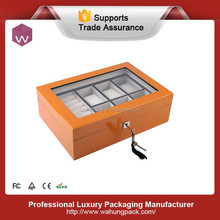 High glossy wood jewelry watch box for watches (WH-S-025)