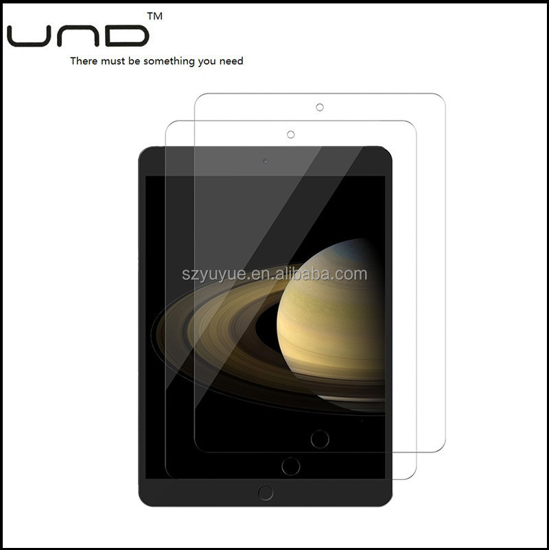 2017 Cheap price universal screen protector Tempered glass screen protector film for ipad 5/6