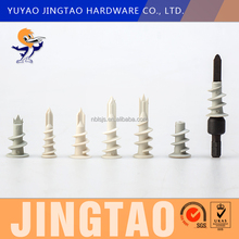 Self-drill Plasterboard Plug ,Wall Anchors For Drywall