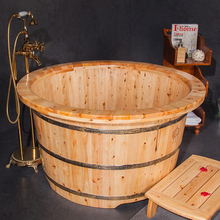 Wooden Soaking Freestanding Bathtubs