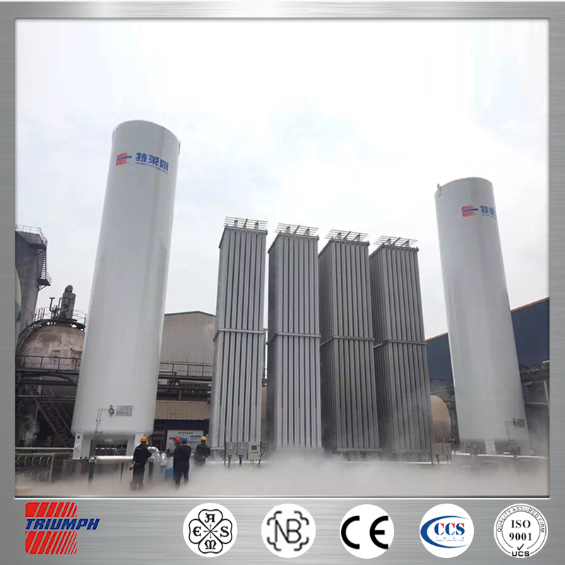 top safety lng station cryogenic portable lng liquid tank