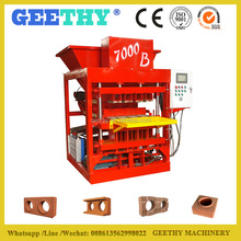 Eco 7000 Plus automatic interlock cement block machine sale , block and interlock factory