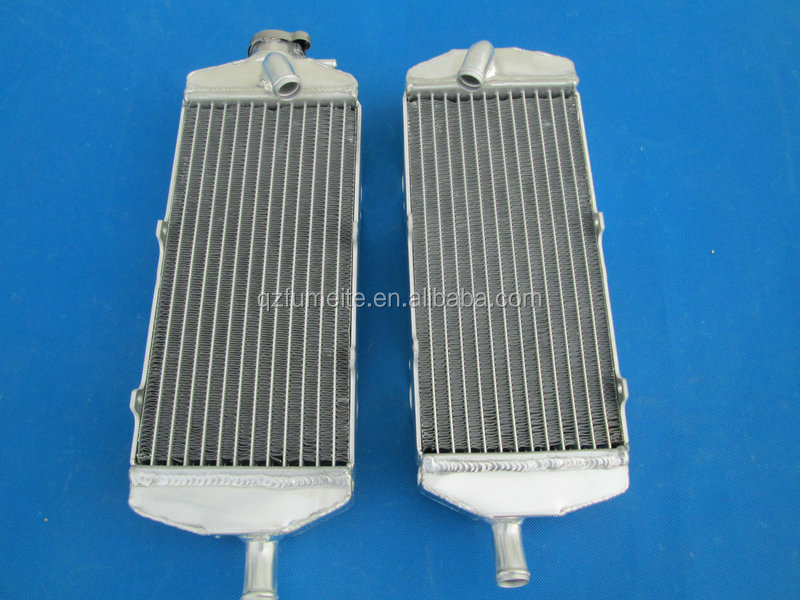 Motocross Bike Motorcycle Aluminum Radiator For KTM 400 450 525 560 SX/MXC/EXC/SMR 03-06 04 05 2004 2005