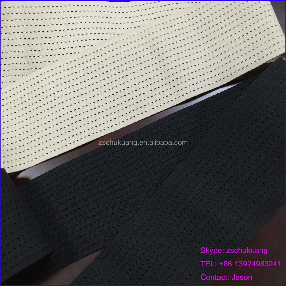100mm Black and Fleshcolor Medical Breathable Elastic band