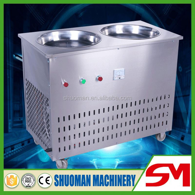 High quality food hygiene standards stainless steel frying ice cream