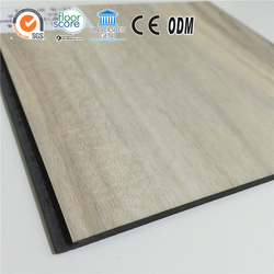 Satisfied wood grain 5mm click PVC sports flooring Indoor