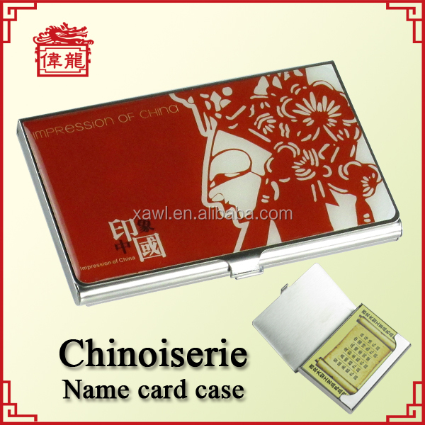 Wholesale custom business card holder gift, engraved namecard holders TZ906