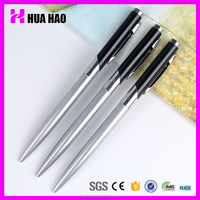2014 Mini Shiny Colored Retractable Metal Ball Point Pen