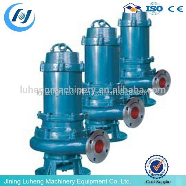 QWP Stainless Steel Submersible Sewage Pump industrial water pumps for sale
