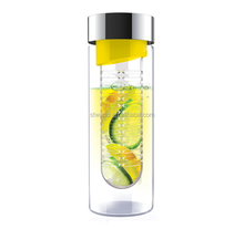 Plastic fruit infuser water bottle click here to win your personalized gift for free