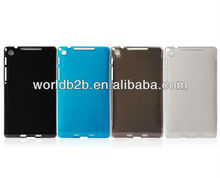 Clear or Solid Color Hard PC For Goolge Nexus 7 2