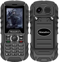 H1 2.0 inch screen Unlocked Quad band Rugged Waterproof GSM Feature phone for Old man