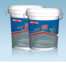 Elastic Acrylic Polymer Waterproof Roofing Coating for steel roof
