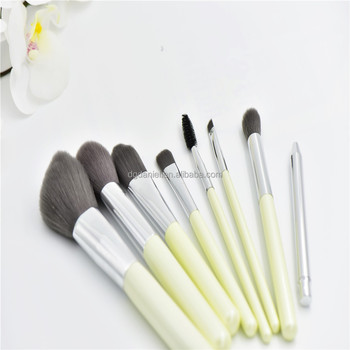 Free sample 8piece synthetic foundation makeup brush set/cosmetic air makeup brush