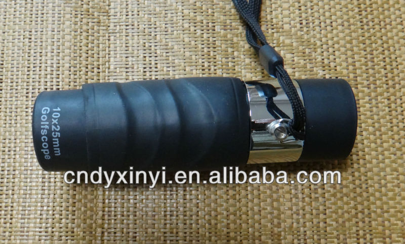 10X25 monocular golf scope