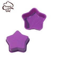 China Silicone Manufacturer Kids Baking Set Star Shaped Silicone Mold Dishwasher Safe