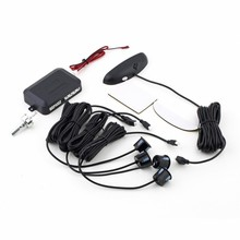 Car LED Parking Sensor Assistance Reverse Backup Radar Monitor System Backlight Display+4 Sensors