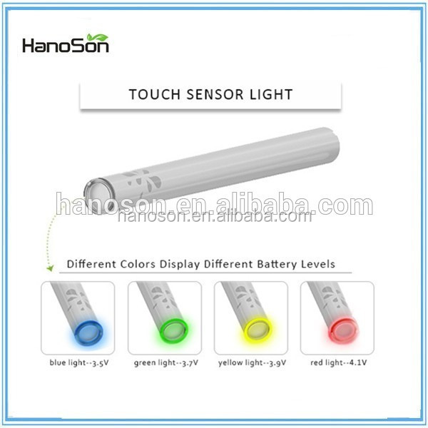 Best quality 510 cbd gold vape battery VS variable voltage preheat stylus touch c battery 280mah
