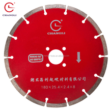 7 inch diamond saw blade for cutting granite,concrete,brick