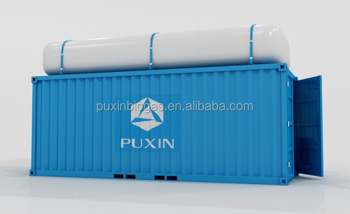 PUXIN new Container Anaerobic Treatment System for food waste
