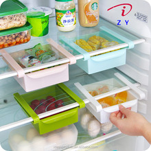 2018 Hot Sale Plastic Sliding Fridge Shelf Storage Trays