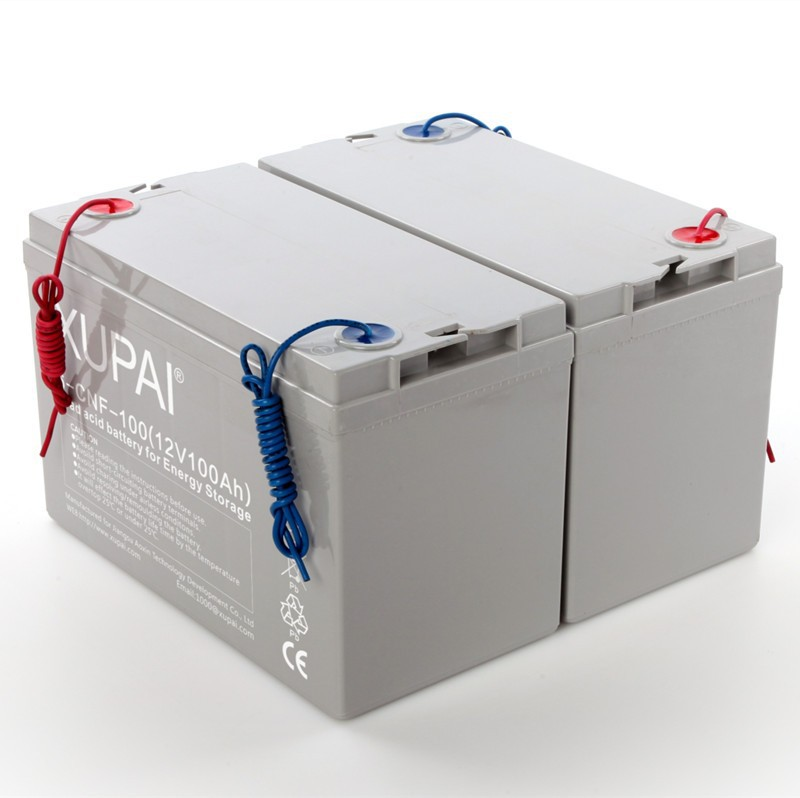 12V 100Ah rechargeable lead acid battery