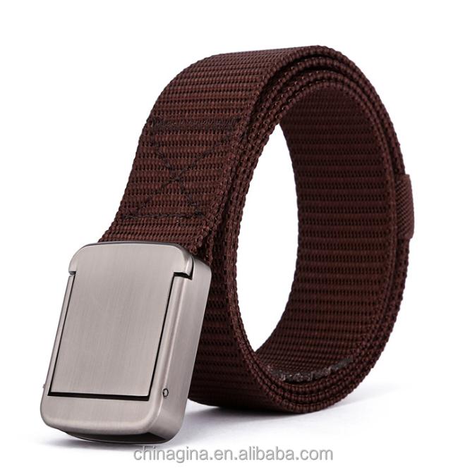 Mens Belt Buckle Nylon Belt for Men Army Tactical Belts Military Waist Belt